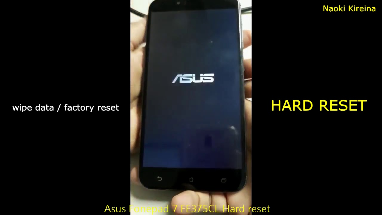 Asus Fonepad 7 FE375CL Factory Reset Videos - Waoweo