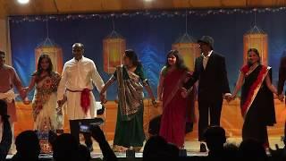 Bay Area Saurashtra Group Diwali Celb. 2017 committee members  Performance 10/28/2017 MAH01403
