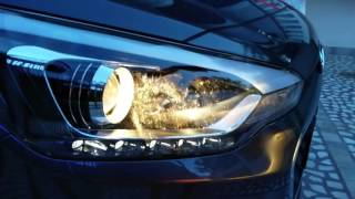 Hyundai i20 Lighting system impressions (DRL and Projector)