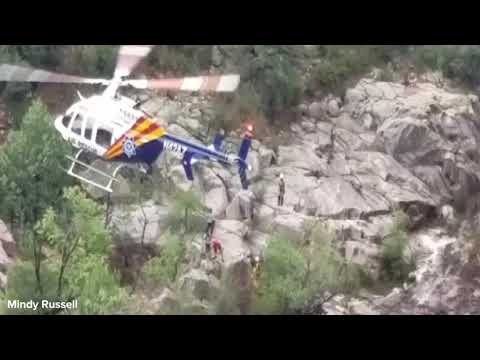 RAW VIDEO: Flash flood rescue near Payson; 9 confirmed dead