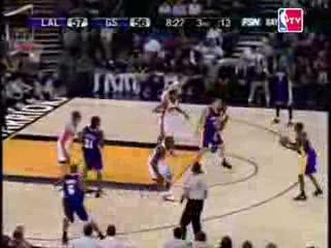 06-07 NBA Season Game2 Lakers vs Warriors @Oakland