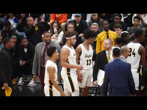 Cleveland Heights vs. Shaker Heights | High School varsity basketball | Great Lakes Classic 2018