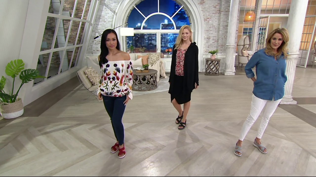 c3af838cdb1 CLOUDSTEPPERS by Clarks Sport Sandals - Arla Primrose on QVC - YouTube