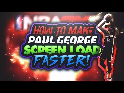 NBA 2K17 • How To Make Paul George Screen Load Faster!!! 😱 • Load 10x Faster!!!