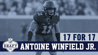 17 for 17: Antoine Winfield Jr.   Dallas Cowboys 2020