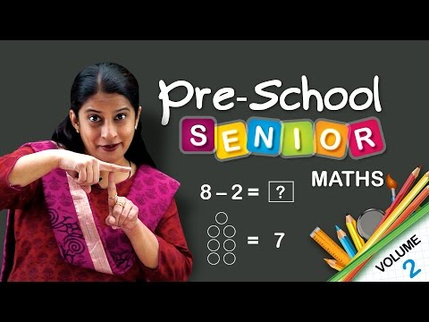Maths School Syllabus Senior Kindergarten | Learn Maths For Kids | CBSE | NCERT | Pre School Maths
