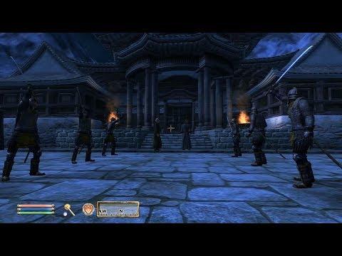TES IV Oblivion #133 Храм Повелителя Облаков. Путь Рассвета