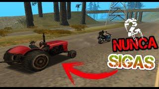 Nunca Sigas al Tractor del GTA San andreas Segunda Parte Misión Final