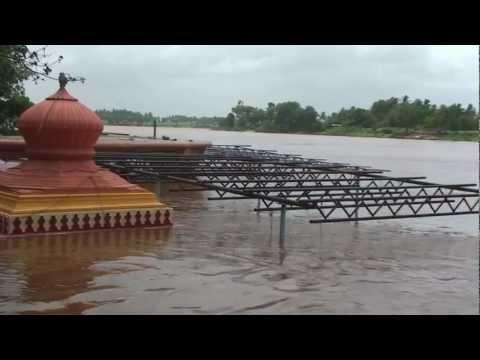 Flooded Krishna River