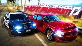 Need For Speed Hot Pursuit -  1 COP VS 4 SPORTS CARS!