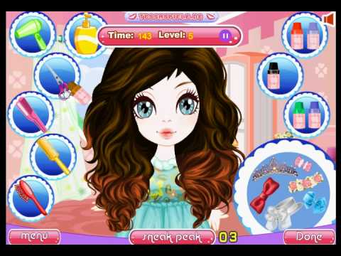 peinados veraniegos - juegos chicas - youtube