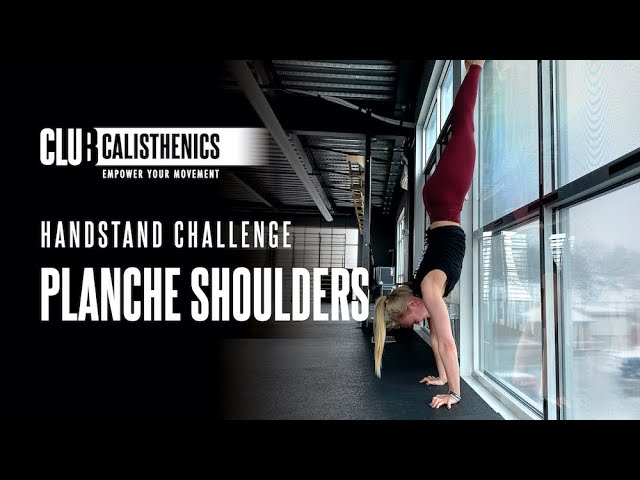 DAY 18 - Handstand to Planche Shoulders