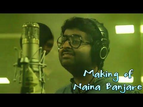 Making of naina Banjare song from pataakha movie -  Arijit Singh