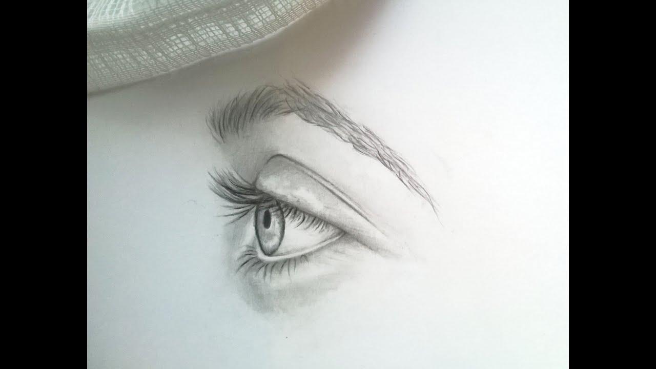 hur ritar man ett öga