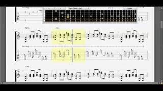 [Guitar TAB] Mưa thủy tinh