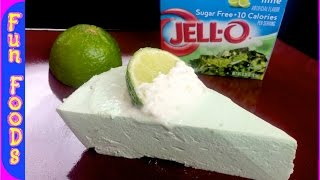 No Bake Key Lime Pie | Low Calorie Dessert