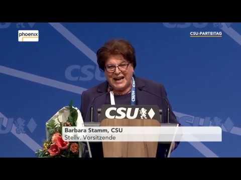 Verabschiedung Barbara Stamm und Christian Schmidt aus dem CSU-Parteiuvorstend am 16.12.17
