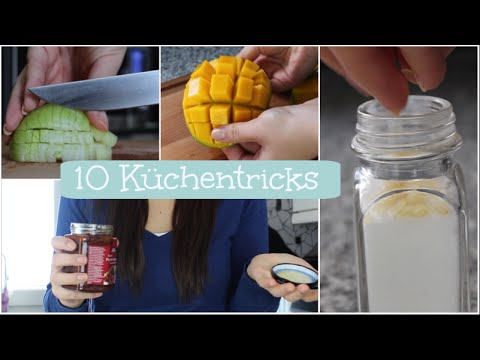 10 Tipps Und Tricks Fur Die Kuche Kitchen Hacks Youtube