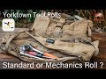 Atlas 46 Yorktown Tool Rool Standard or Mechanics Roll Comparison - Which one right for you?