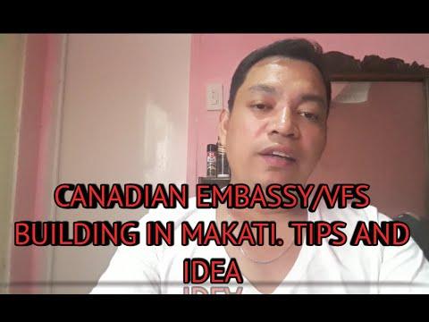 CANADIAN EMBASSY / VFS BUILDING TIPS AND IDEA  | Julius Llaguno| Jmjn | Filipino Sa Canada