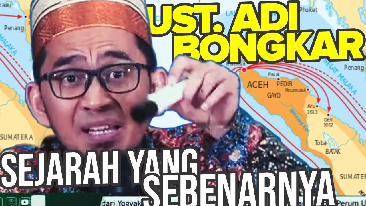 UST. Adi Bongkar SEJARAH Indonesia. Ternyata Islam masuk Indonesia sejak masa Nabi