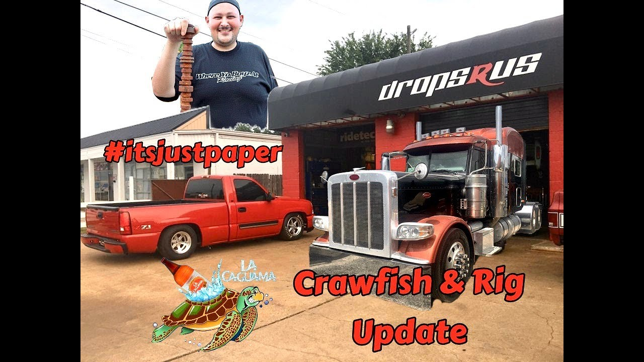 Updates on the 4x4 turbo truck and the Peterbilt On D Gas Rig