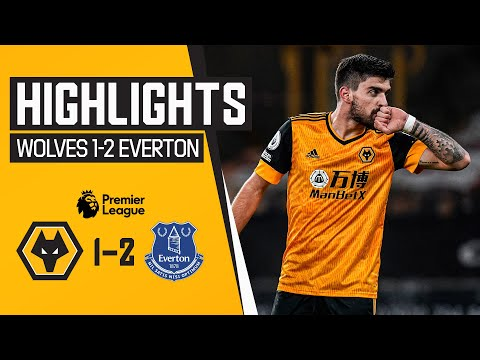 Keane's header earns the visitors all three points | Wolves 1-2 Everton | Highlights