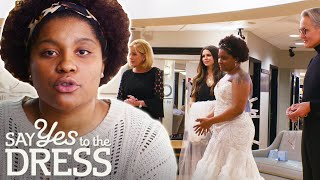 Very Young Bride Needs Help Standing Up To Her Family | Say Yes To The Dress Atlanta