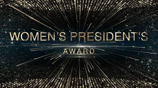 2018 Black and Gold Awards: Women's President's Award thumbnail