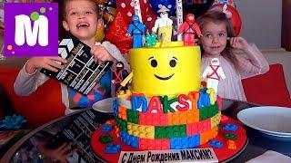 День Рождения Мистера Макса 7 ЛЕТ !! Mclaren и XboxOneX в подарок. По пустыне на суперкаре