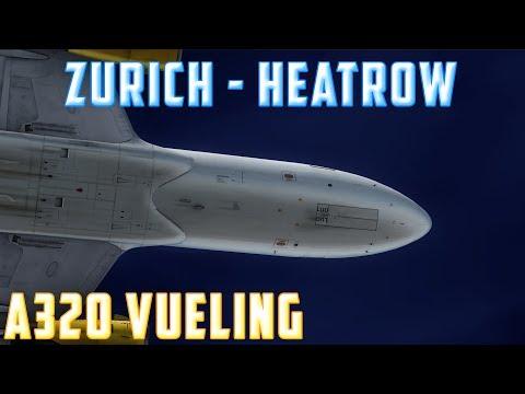 Prepar3D [IVAO] |ZURICH - HEATROW | Vuelo de la Semana #18