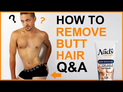 ✅ How To Remove Butt Hair | Q&A - Men's Grooming - YouTube