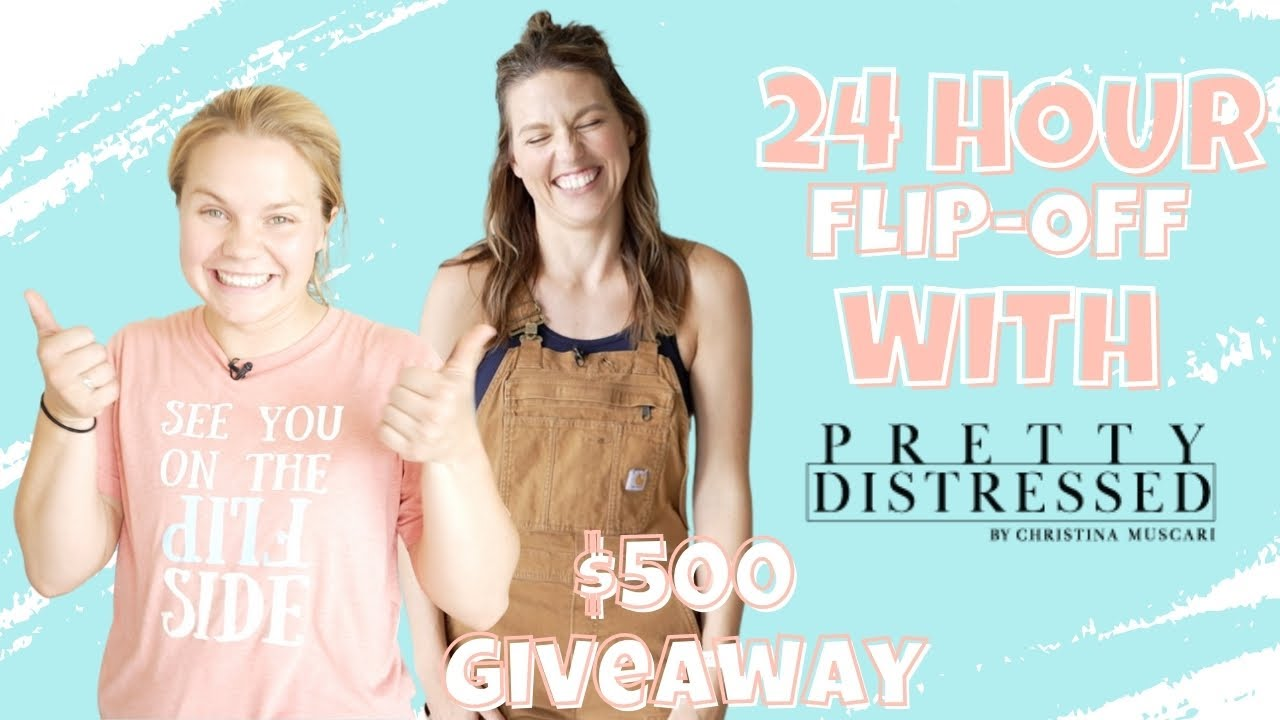 24 Hour Furniture Makeover with @Christina Muscari | OUR 1st Collab!!