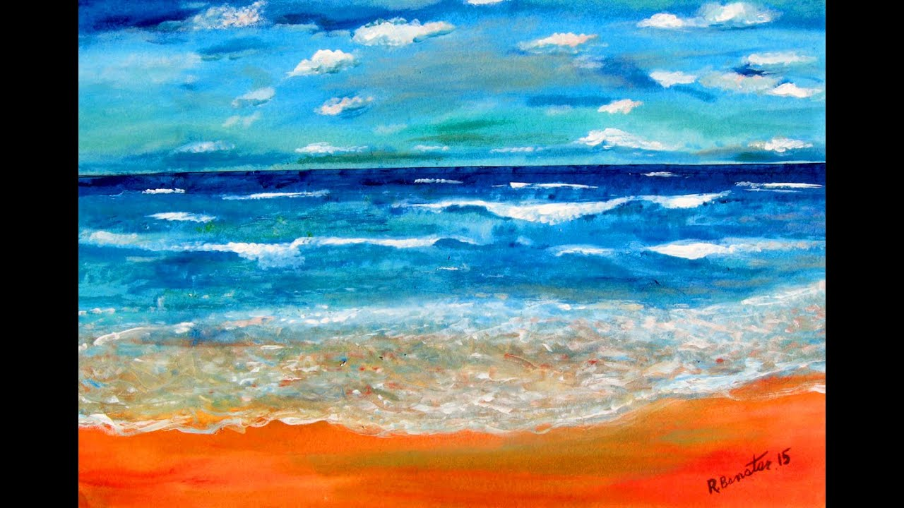 How To Paint Impressionist Style With Acrylics