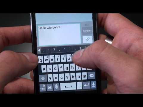 LG P700 Optimus L7 - Bedienung - Teil 2