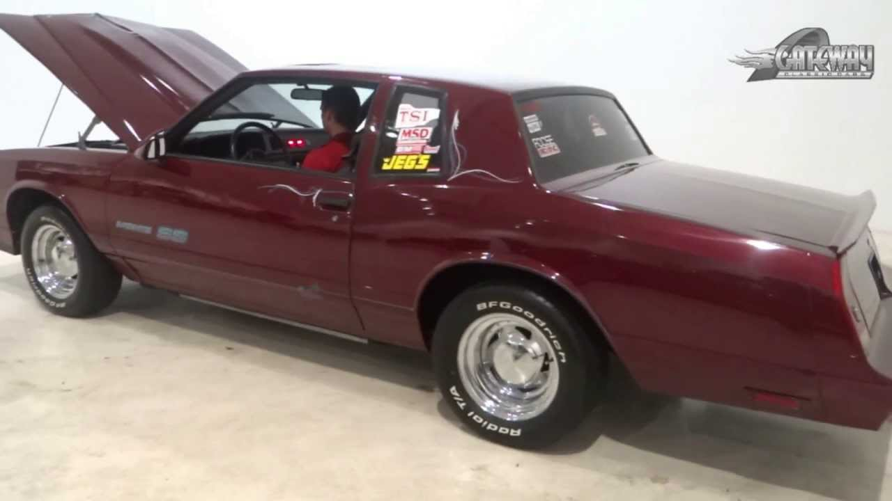 All Chevy 1988 chevrolet monte carlo ss for sale : 1987 Monte Carlo SS for Sale - YouTube