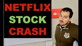 NETFLIX STOCK CRASH AFTER HOURS