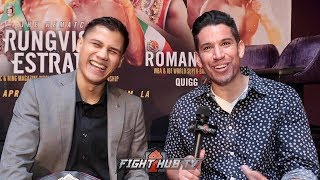 """DANIEL ROMAN WANTS NAOYA INOUE FIGHT! I'M HERE TO FIGHT! IM NOT WASTING NO TIME!"""""""