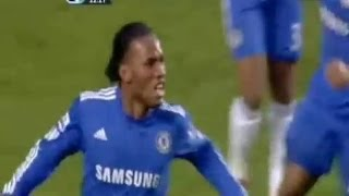 Didier Drogba - All Goals vs Arsenal !
