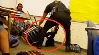 School Officer ASSAULTS A Peaceful Student | What's Trending Now