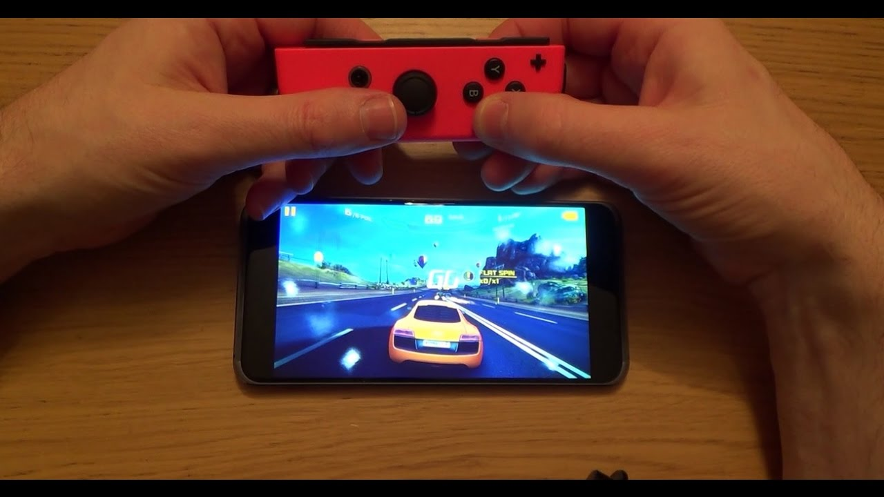 How to Connect a Nintendo Joy-Con to ANDROID Mobile Cell Phone