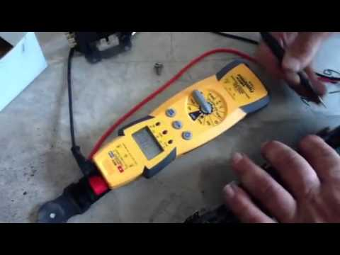 Troubleshooting Bad Contactor Coil - YouTube
