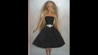 Как сшить ЛЕТНЕЕ ПЛАТЬЕ для Барби! How to sew a SUMMER DRESS for Barbie!(как сделать,мебель для кукол,одежда для кукол, как сделать обувь для кукол, шапка для кукол, платье для кукол..., 2015-01-04T15:56:05.000Z)