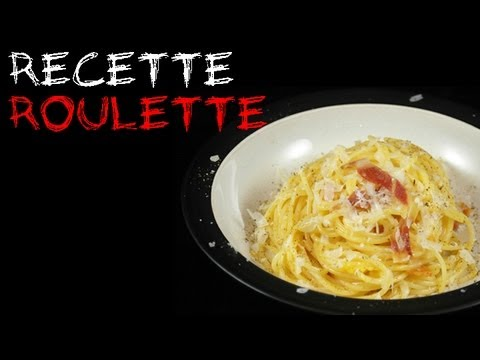 Recette : Spaghetti carbonara