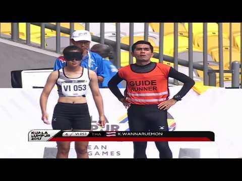 9th ASEAN Para Games - Para Athletics Day 1