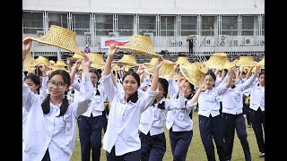 Thai Catholic Students Rehearse Dance for Pope Francis Visit to Thailand