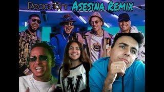 Reaccion : Asesina Remix - Brytiago / Darell / Daddy Yankee / Ozuna / Anuel AA