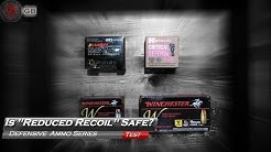 Reduced Recoil Handgun Ammo