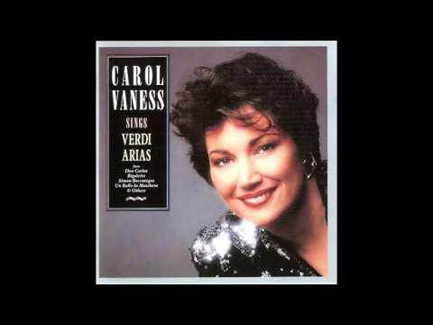 """Carol Vaness: Pace, Pace mio Dio (Verdi's """"La Forza Del Destino"""")"""