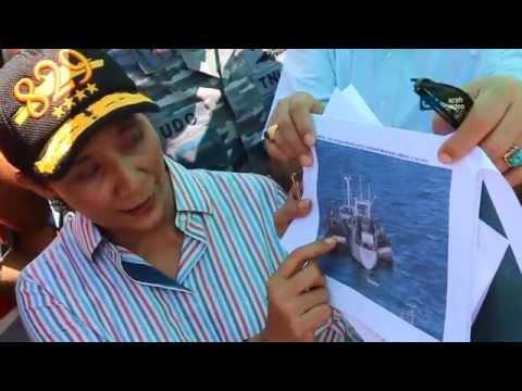 Menteri Susi Pastikan Kapal Silver Sea 2 Tampung Ikan Curian #Aceh#sabang